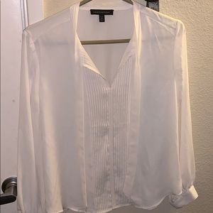 Banana republic front tie blouse